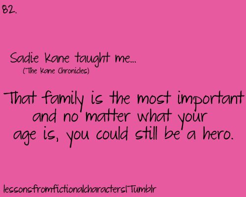 Sadie Kane - I don't have a board for the Kane Chronicles. Its fandom isn't really large enough for there to be many things to pin. :(