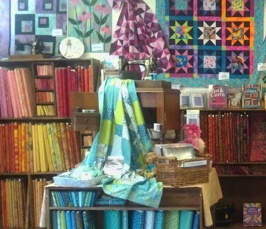 Grandma S Attic Sewing Emporium Quilt Shop Displays Quilt Shop Fabric Shopper