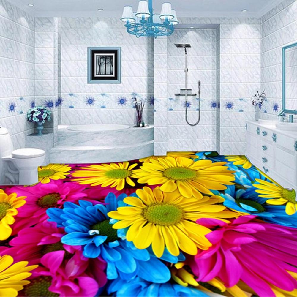 Pin by AJ WALLPAPER on Flowers Floor murals, Epoxy floor