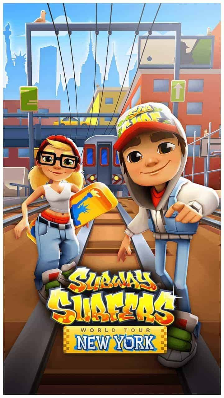 Subway Surfers New York 1.44.0 Mod APK Unlimited Coins
