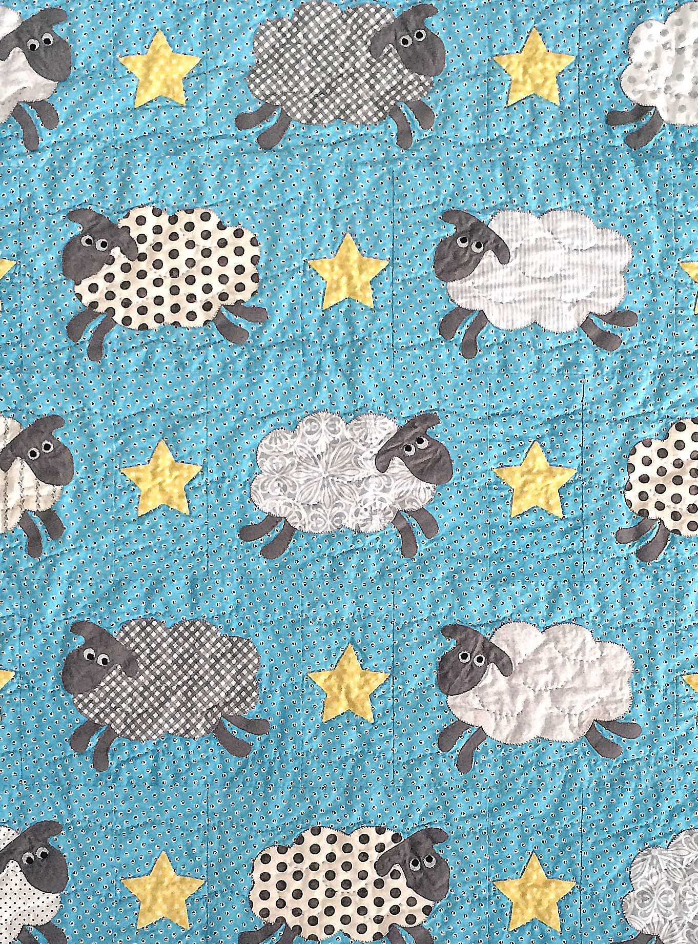 Counting Sheep Quilt Pattern By Black Mountain Needleworks