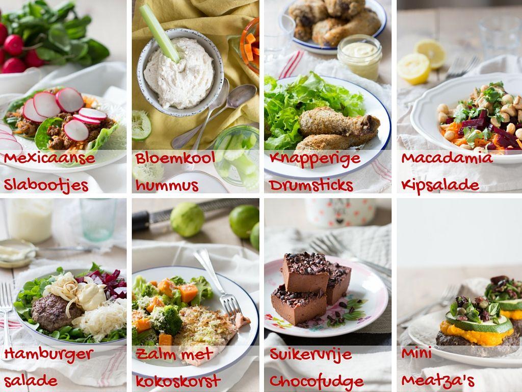 Recepten in EetPaleo Suikervrij