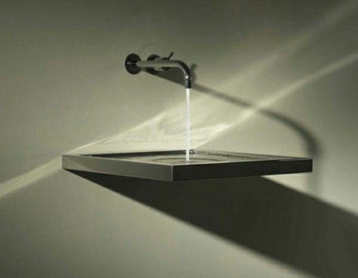 Moderne waschbecken für kleines badezimmer Gäste WC Pinterest