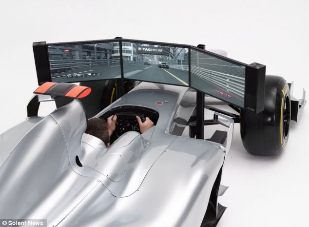 the 90 000 formula 1 simulator that is 39 indistinguishable 39 from the real thing as long as you. Black Bedroom Furniture Sets. Home Design Ideas