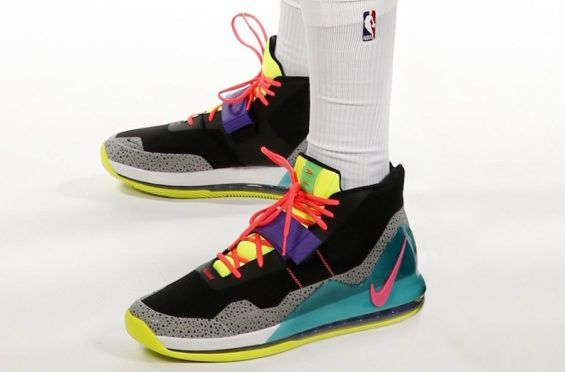 best cheap 20927 b51b8 Anthony Davis Debuts New Nike Air Force Max In Bold Colorway For NBA Media  Day