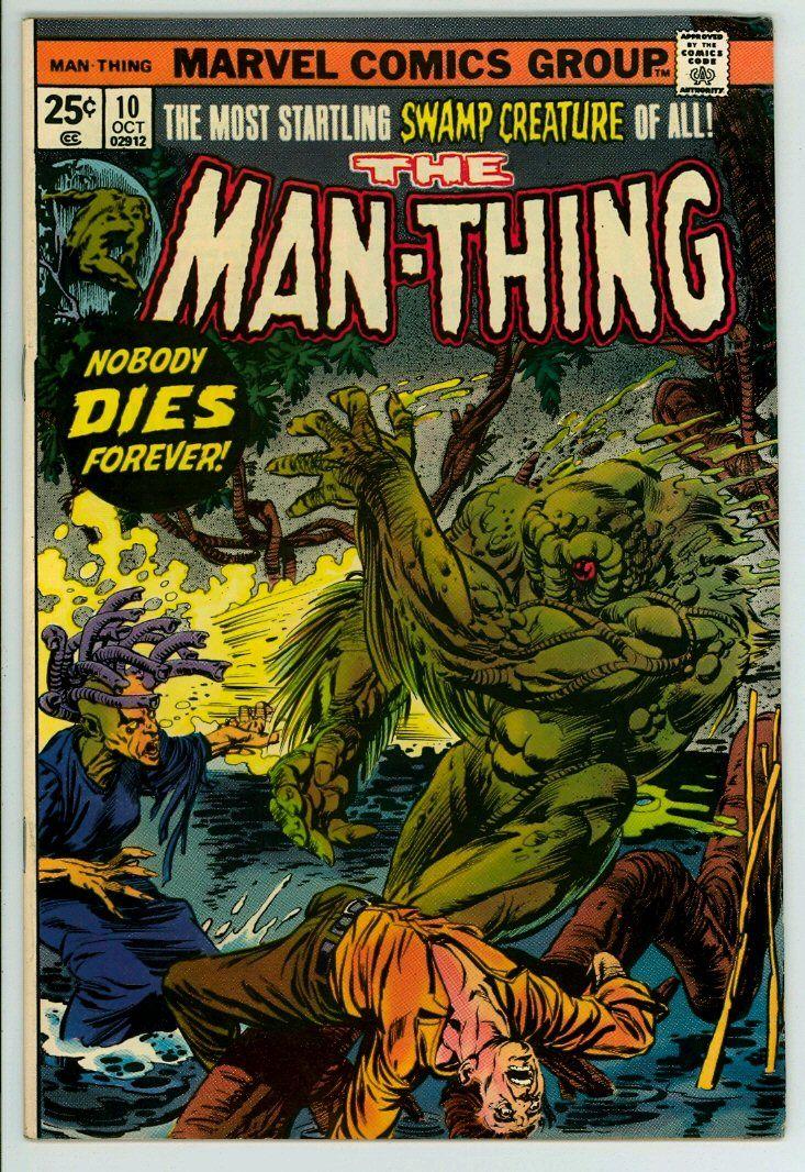 Man-Thing (1st series) 10 (FN 6.0)
