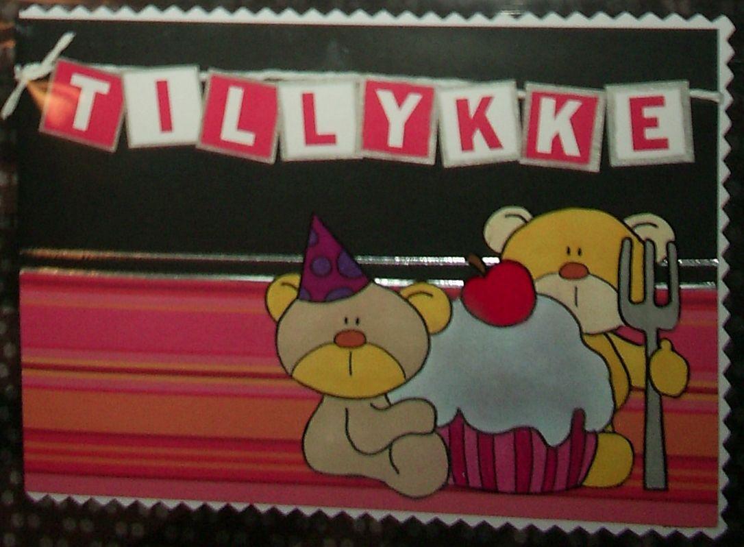birthday card, fødselsdagskort