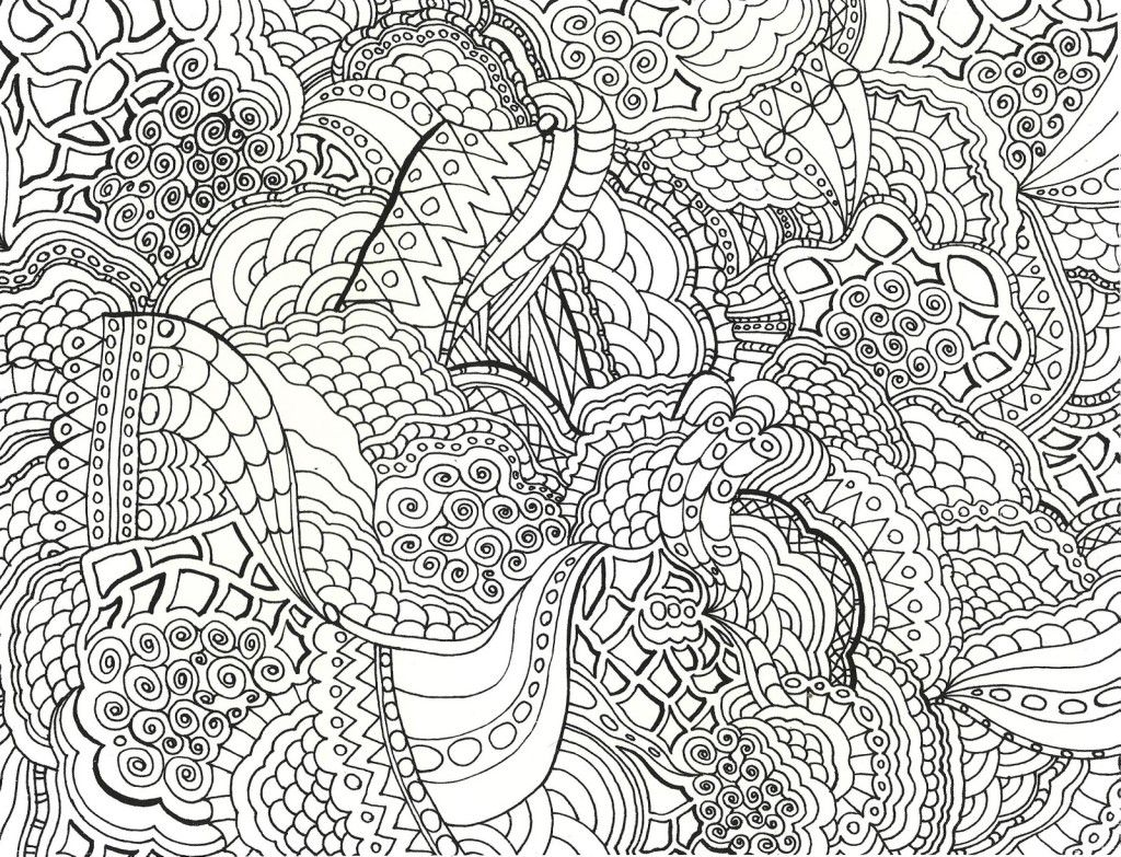 Coloring pages patterns - Detailed Geometric Coloring Pages Bing Images