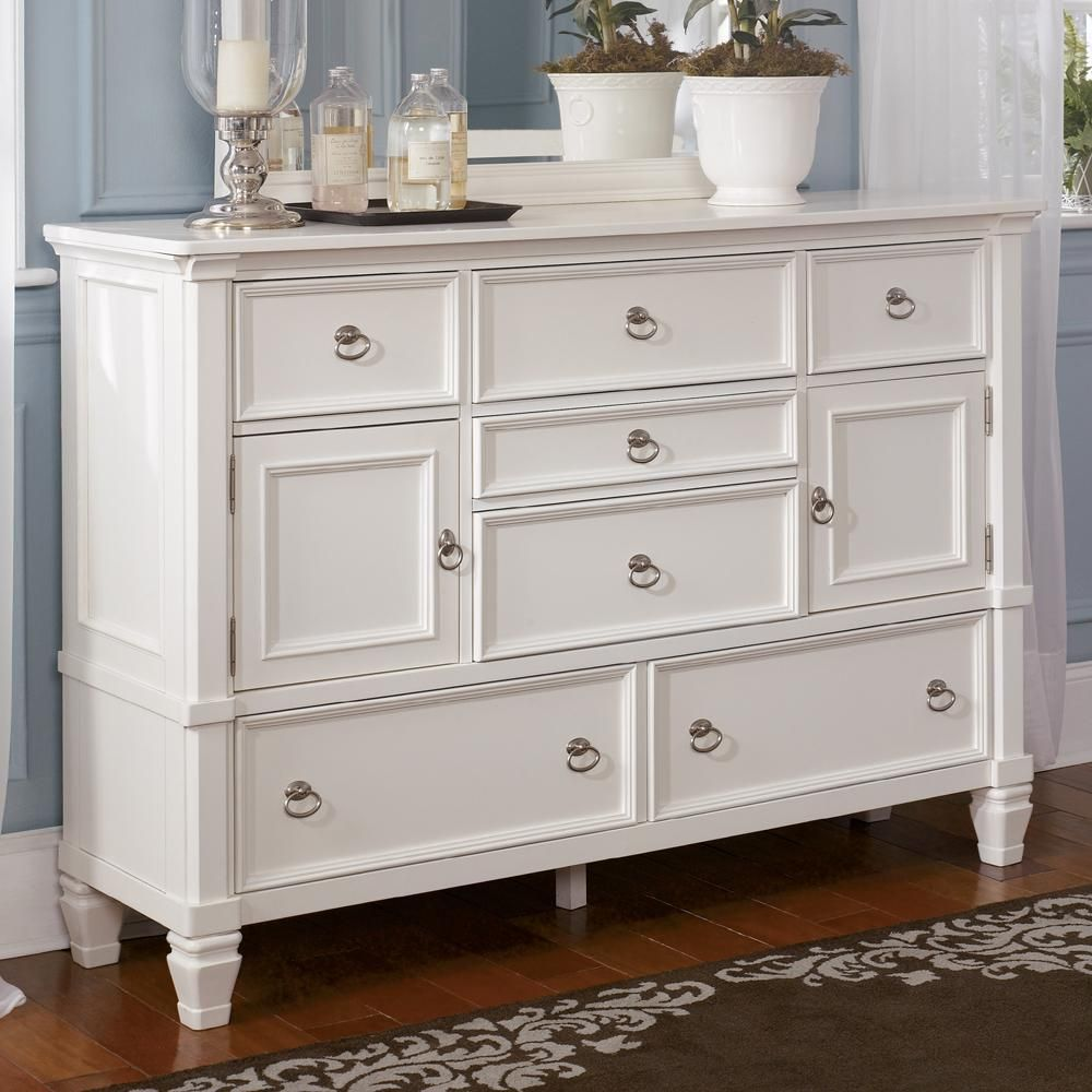 Best Prentice 7 Drawer Dresser With Glass Door Option By 400 x 300