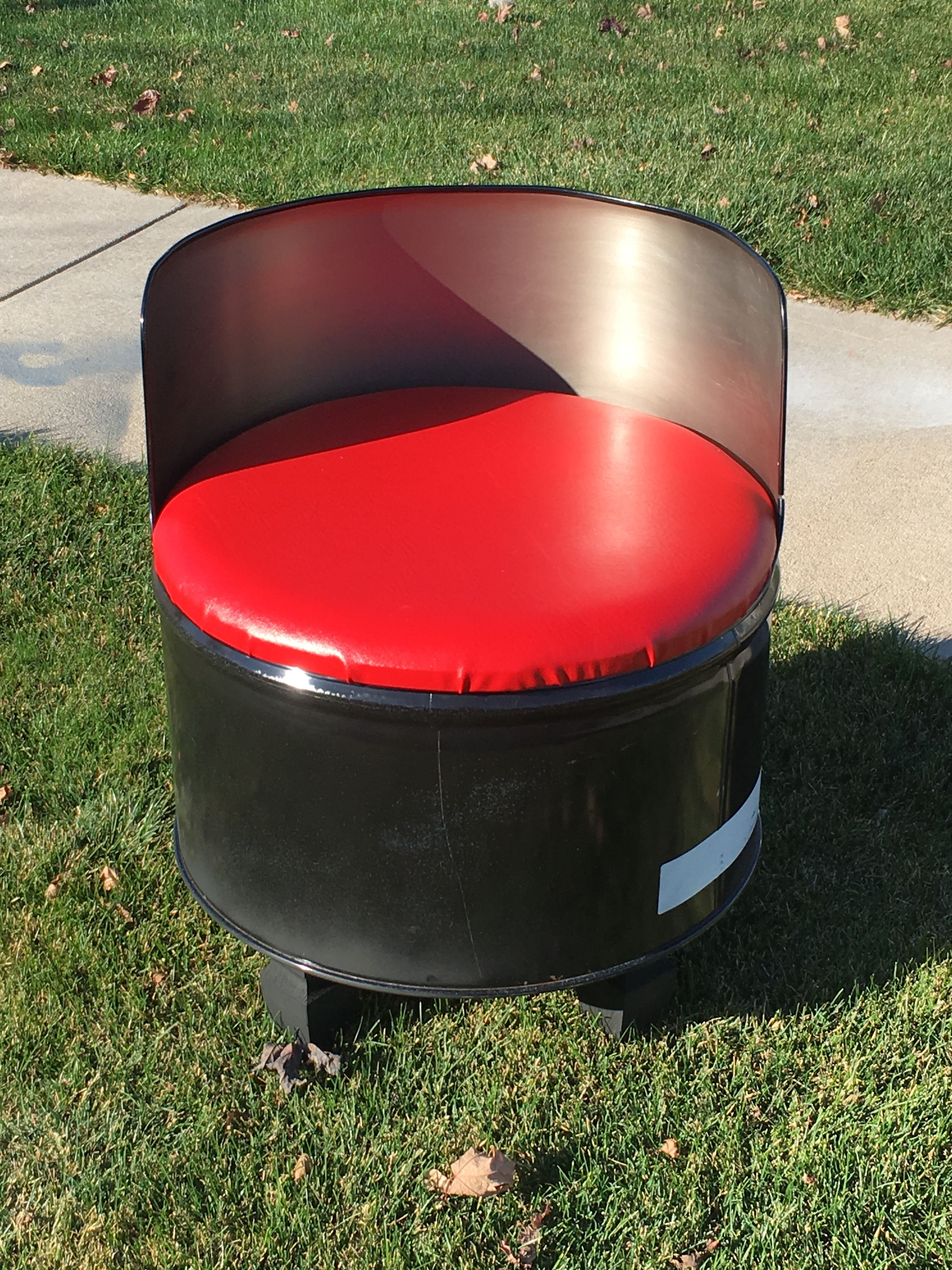 55 Gallon Drum Chair Chairs Pinterest