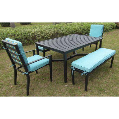 27++ Mainstays wicker 5 piece patio dining set seats 4 Top