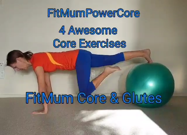 Fit Mum Core & Glute Exercises  #coreworkouts