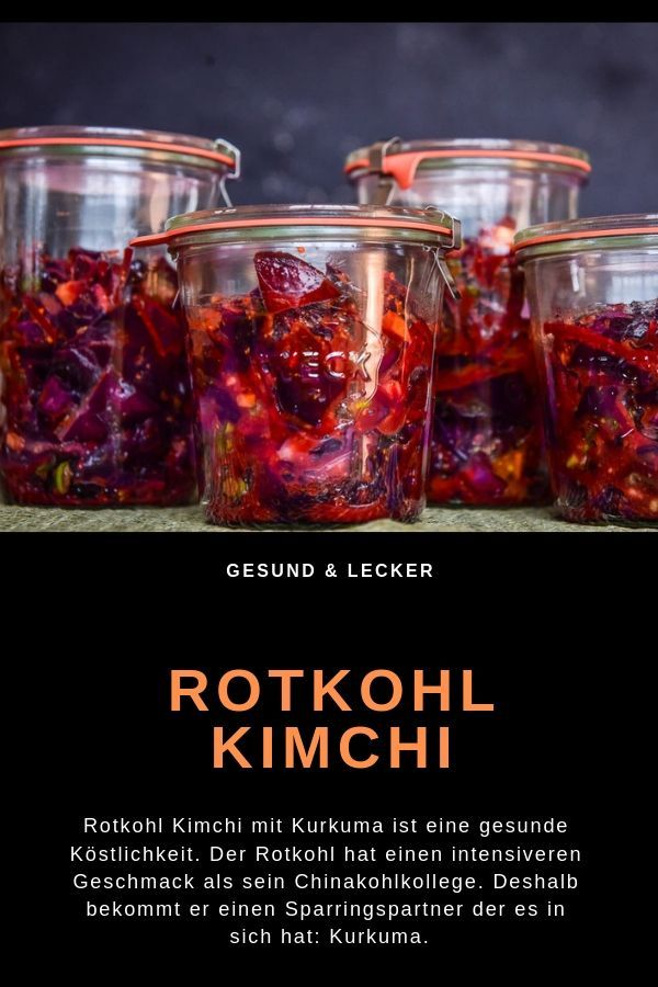 Photo of Recipe for red cabbage kimchi – cooking makes you happy