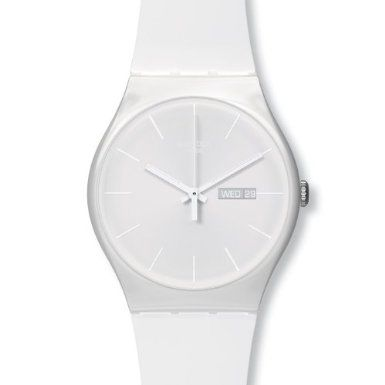 White Rebel Mens Watch from Swatch