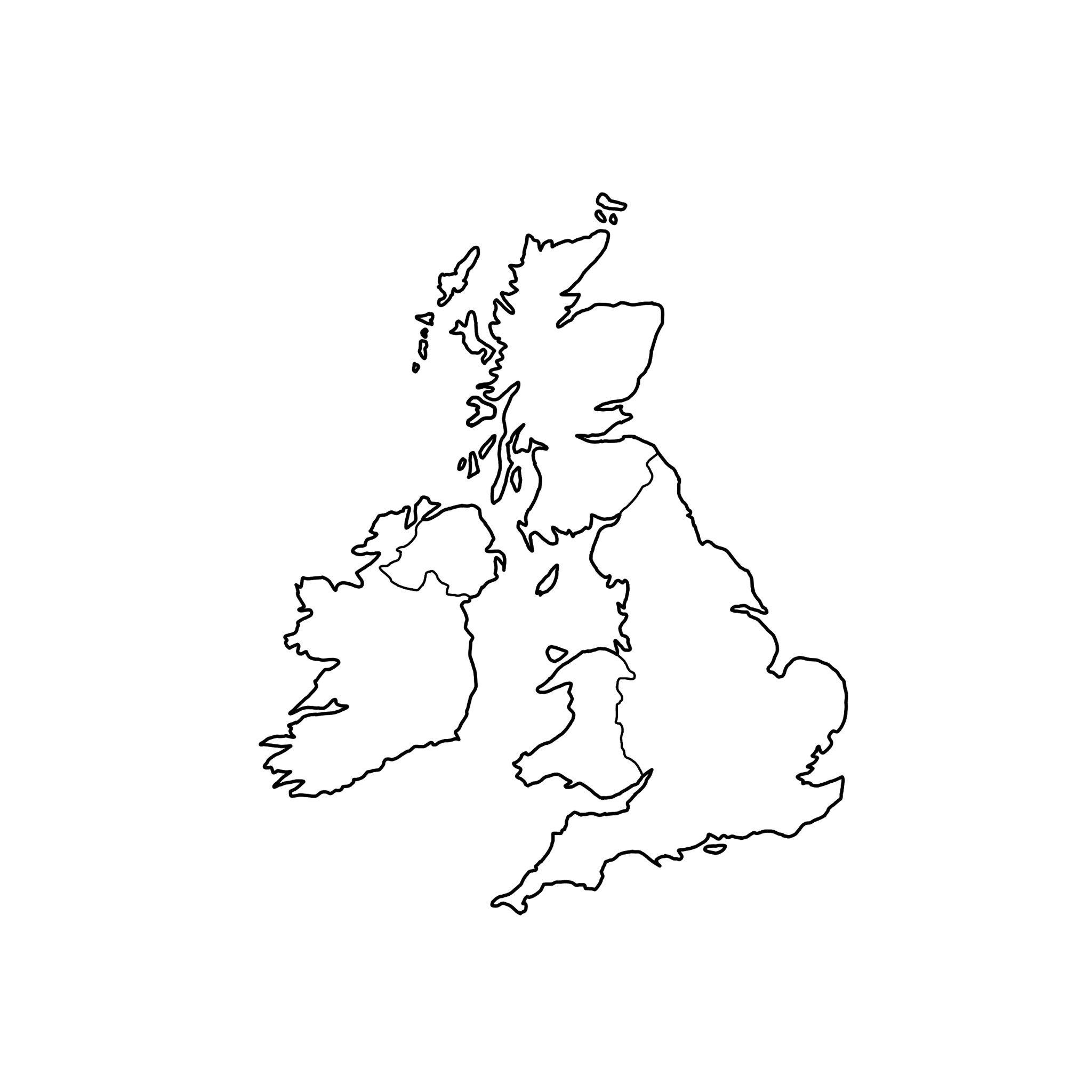 Map Of British Isles
