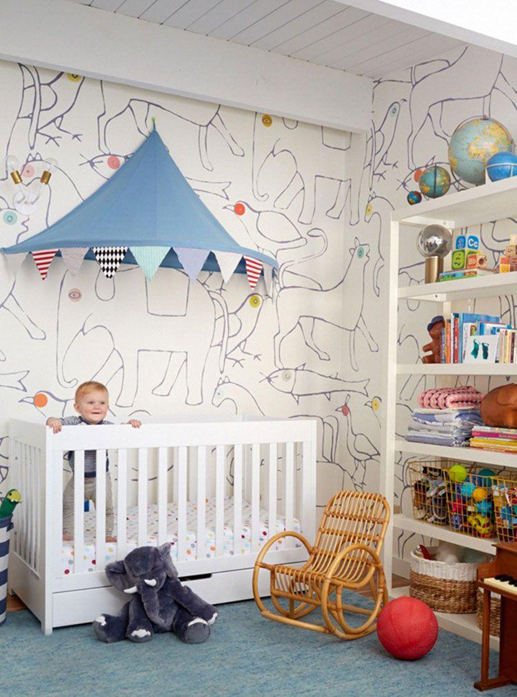 Decorazioni per stanzette adesivi murali con buccia e - Decorazioni muri stanzette ...