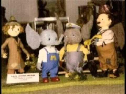 Here Comes Mumfie Theme Song Lyrics Elephant Puppet Kids Shows Kids Tv Retro Kids