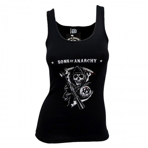 Sons of Anarchy Reaper Women's Tank Top -- ANDDDD I MUST HAVE THIS!!!!!!!!!!