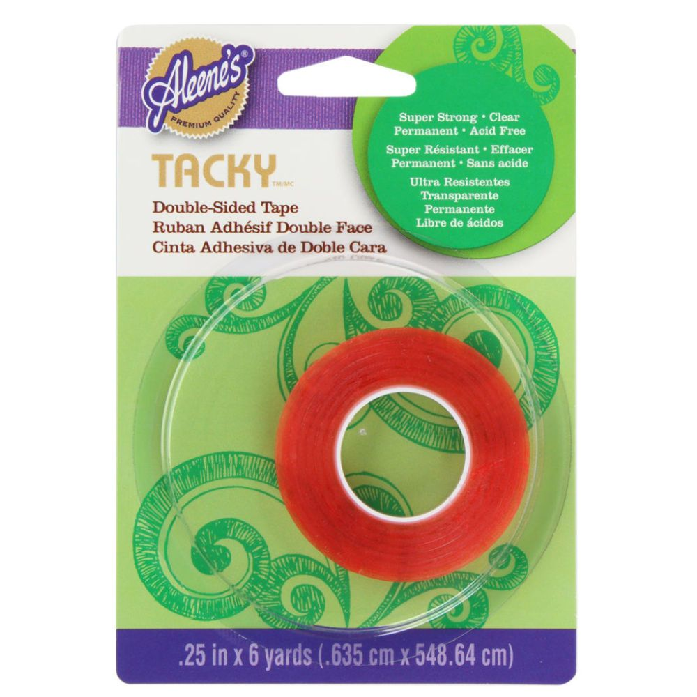 Aleene S Double Sided Tacky Tape Double Sided Adhesive Tape Tape Tacky
