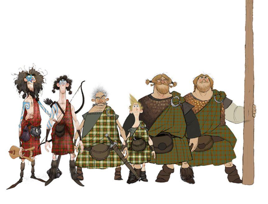 Disney Character Design Game : Brave � pixar animation studios website