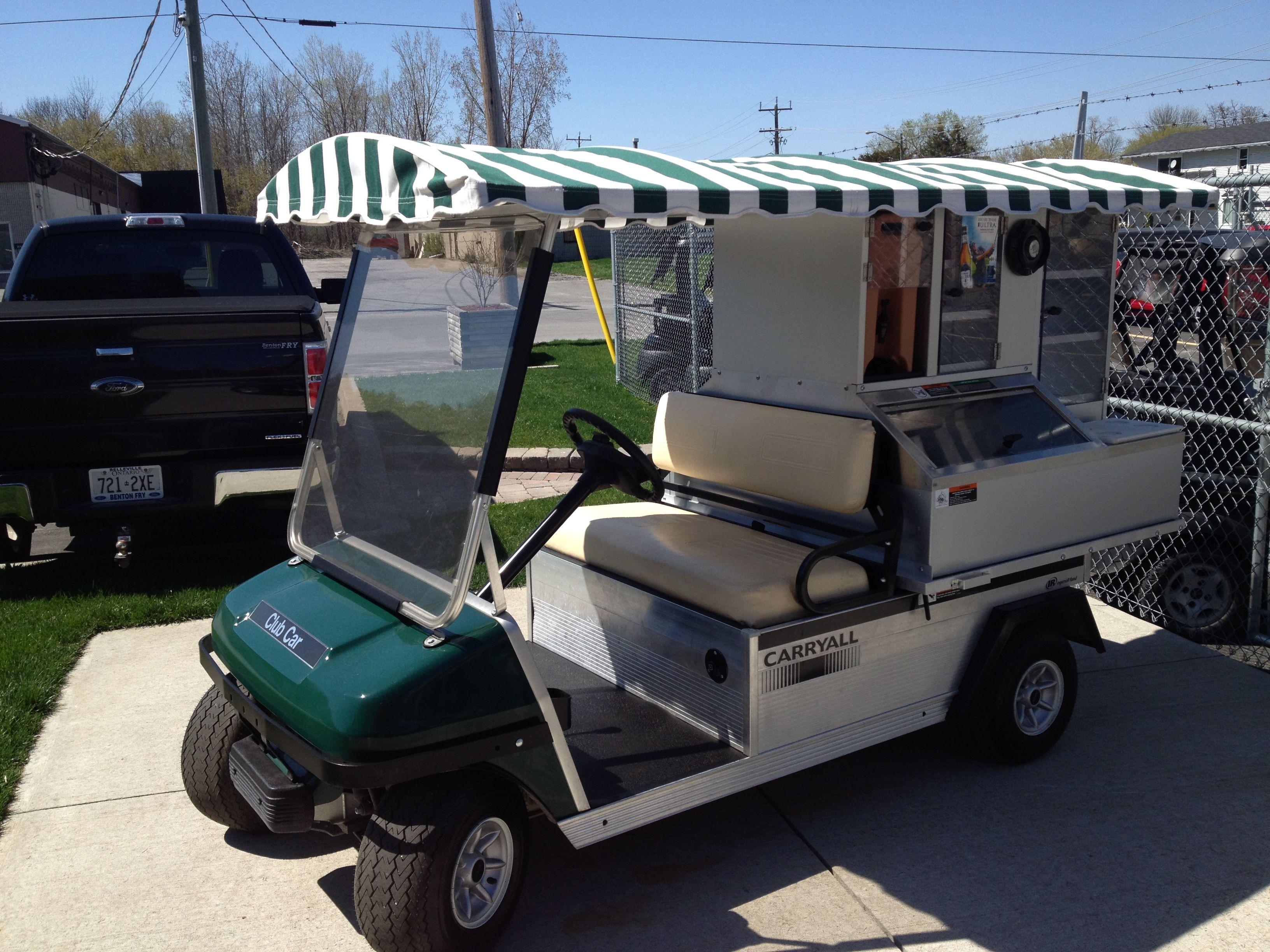 Now That S What I Call A Hotdog Cart Golf Carts Cart Cool Stuff