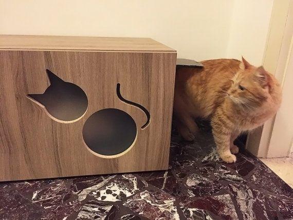 Gatti Mobili ~ Litter box hider mobile copri lettiera per gatti di athleticat