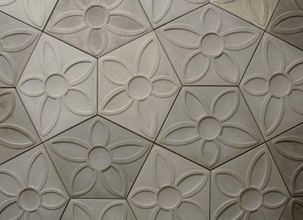 moderne beton fliesen idee design innovativ - Fliesen Designe