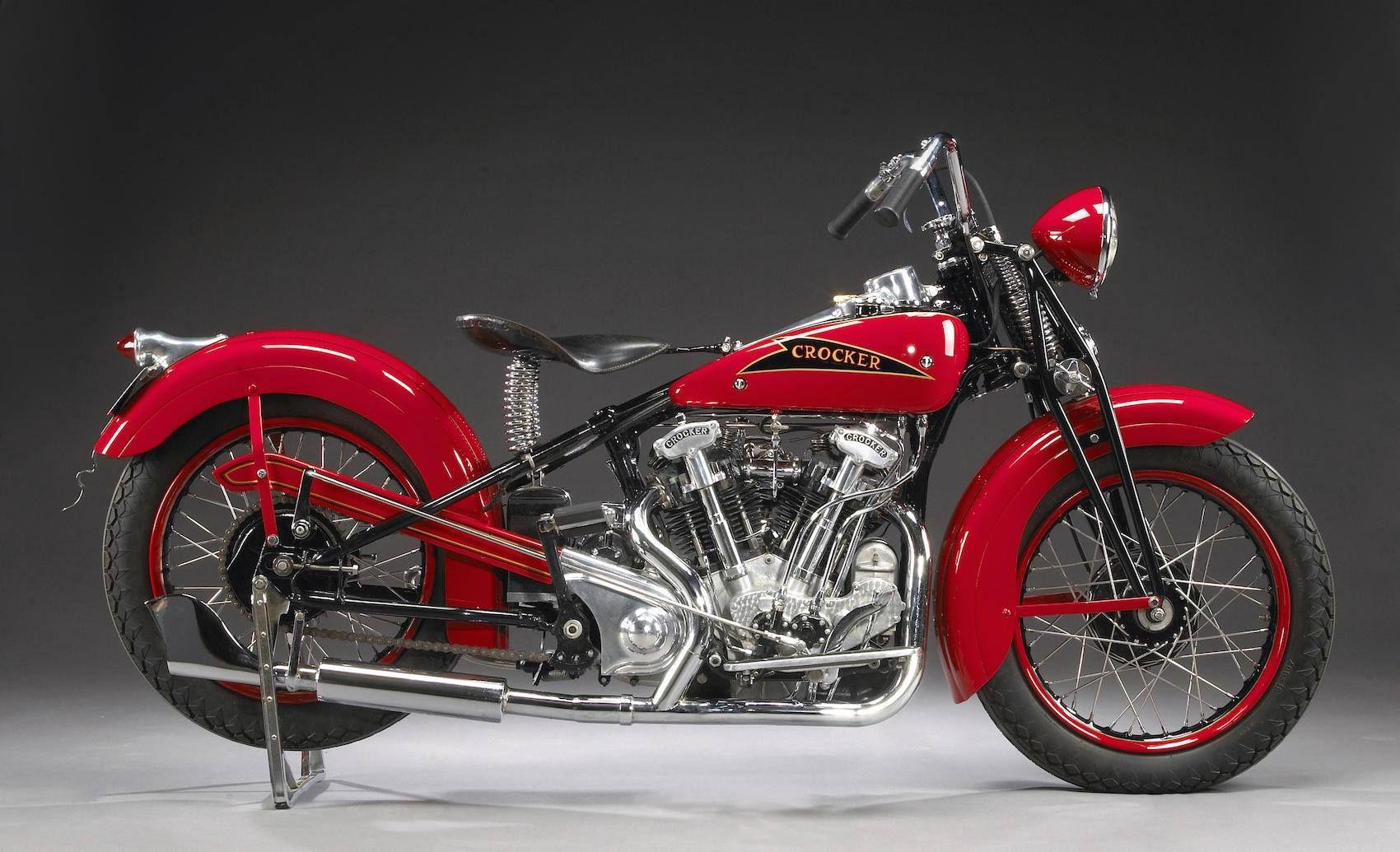 1937 crocker motorcycle 39 hemi head 39 v twin one of five for Crocker motors used cars