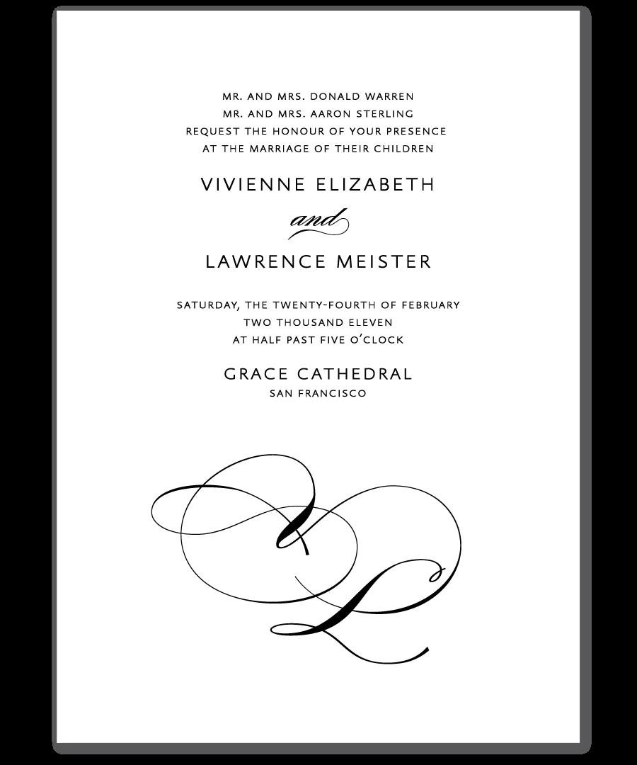 Beautiful san serif typography | Wedding - Invitations | Pinterest ...