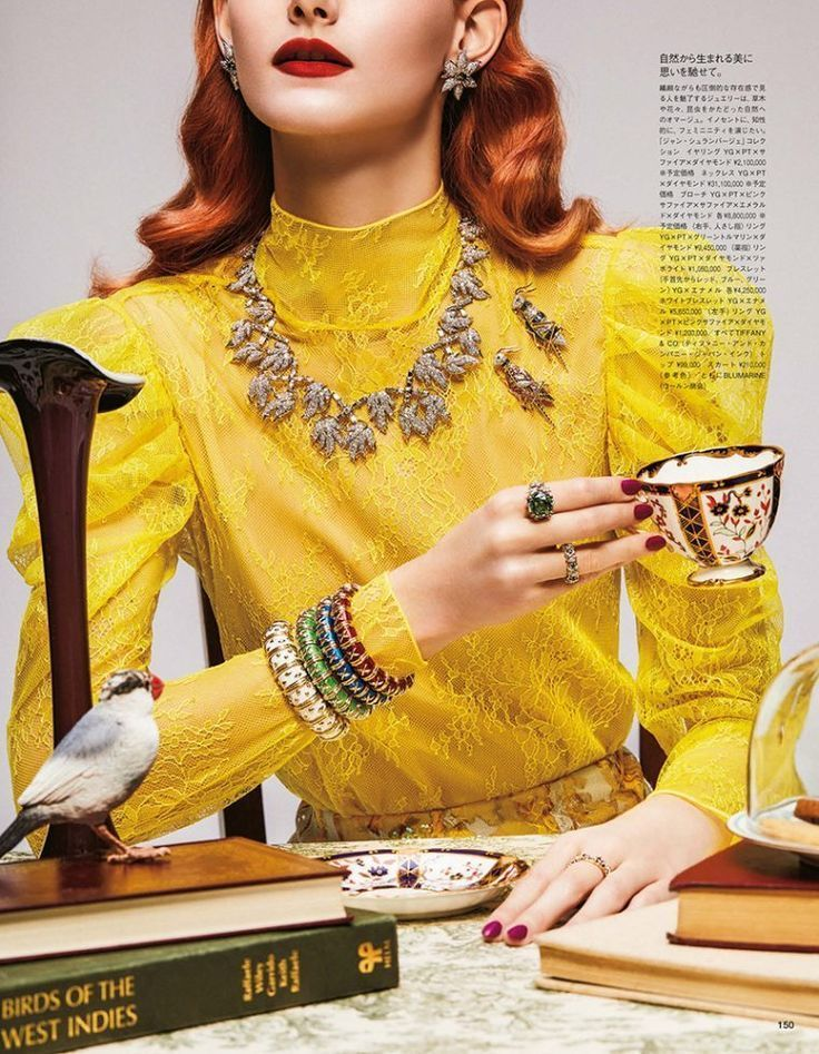 """Photo of EDITORIAL: """"Glowing with Style"""" – Gioiello Vogue Japan December 2018 – Jewelry …."""