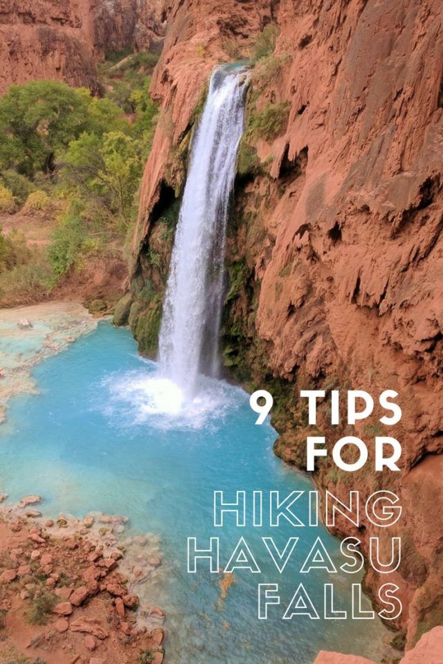 Nine Tips For Hiking Havasu Falls Havasu Falls Outdoor Travel Adventure Outdoor Travel