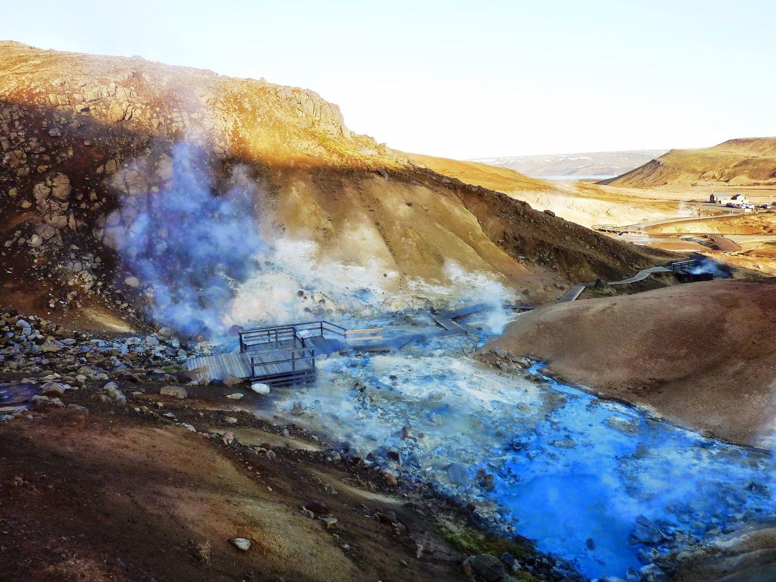 Nos carnets de route...: Islande #1 - 2014 - Jour 4 - Krýsuvík-Seltún