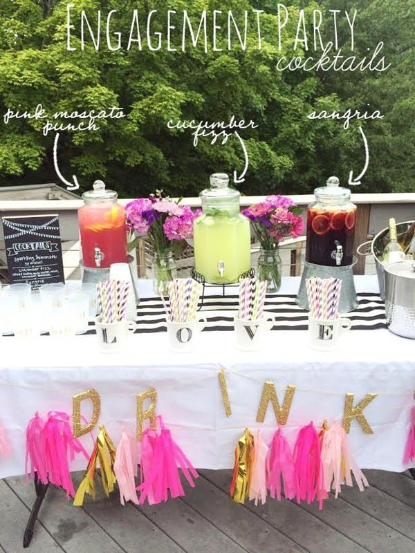 Engagement Party Ideas: Themes, Cakes, Gifts, Favors & Decorations #engagementparty #engagementideas #funengagementideas #engagementcelebrations