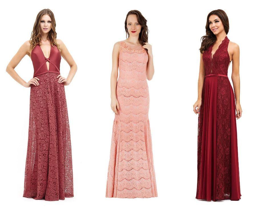 Vestidos longos de festa online
