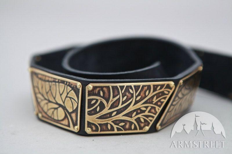 Elven Belt with Leaves