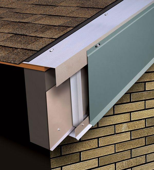 Best Hi Perf Rake Fascia Roof Edge Roof Design Metal Roof 400 x 300