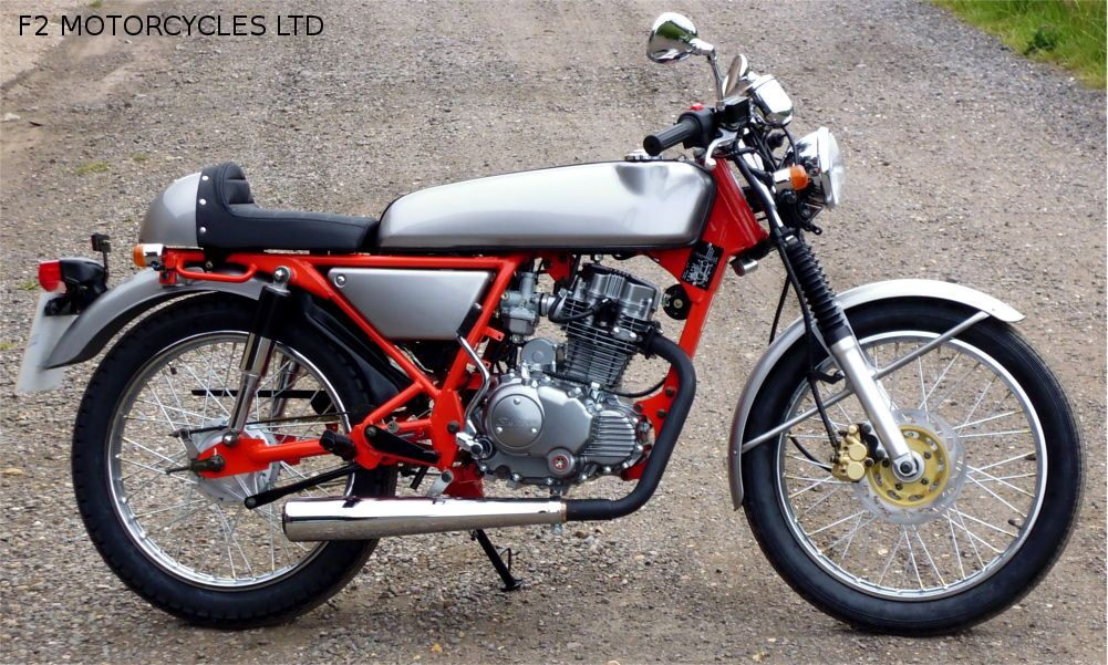 ACE With ACE Bars Teardrop Mirrors F Absorption Silencer - Classic motorcycle custom stickers