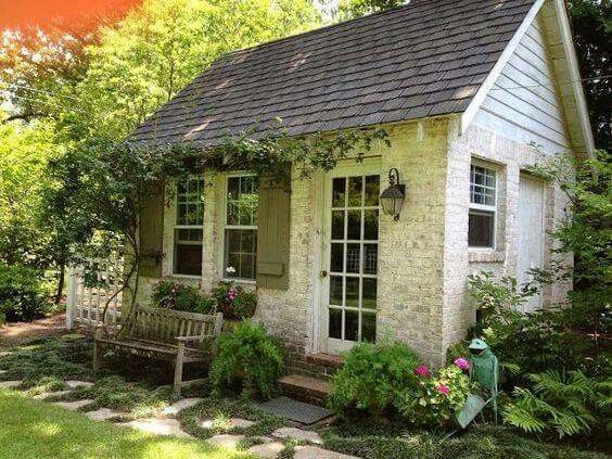 A small cottage for kitty and me.