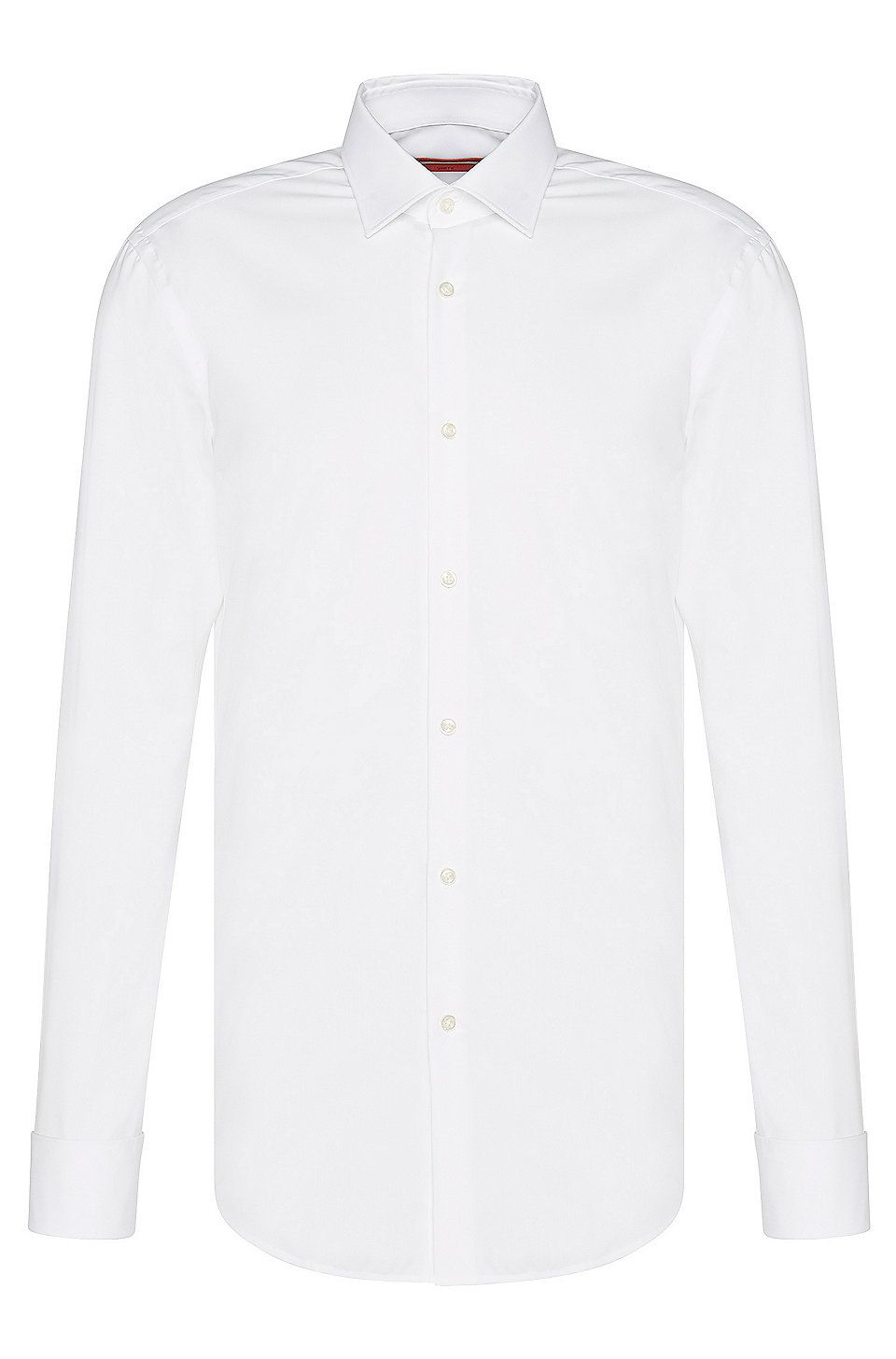 d2cd45a20 Hugo Boss Slim-fit business shirt with French cuffs - White Shirts from HUGO  for Men in the official HUGO BOSS Online Store free shipping