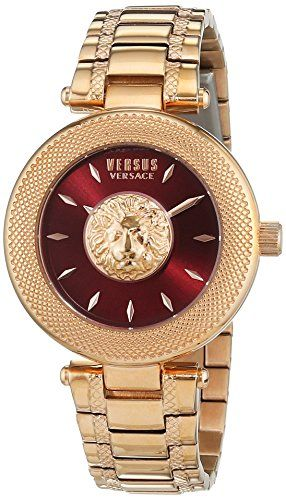 0d732f898405f Versus by Versace Womens BRICK LANE Quartz Stainless Steel Casual Watch  ColorRose GoldToned Model S64070016     To view further for this item