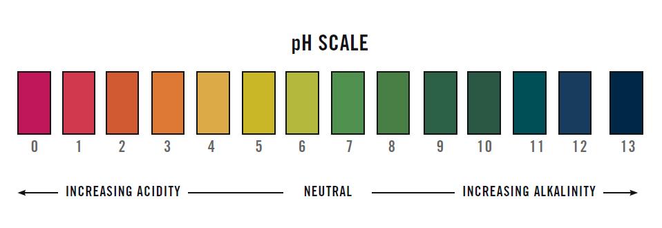 Ph Test Paper Color Chart 420 Pinterest – Ph Chart