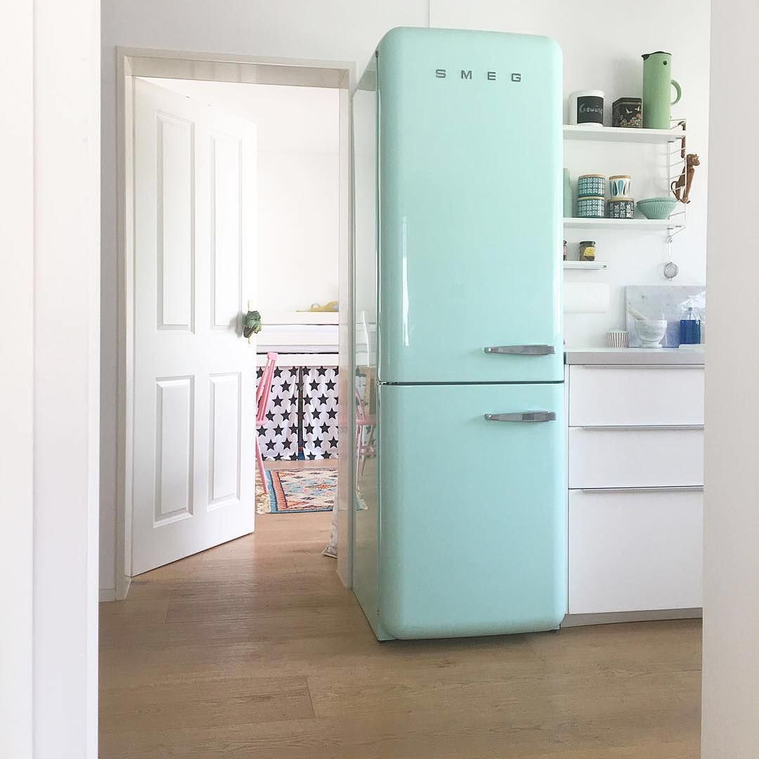 картинки холодильник зеленый самом деле