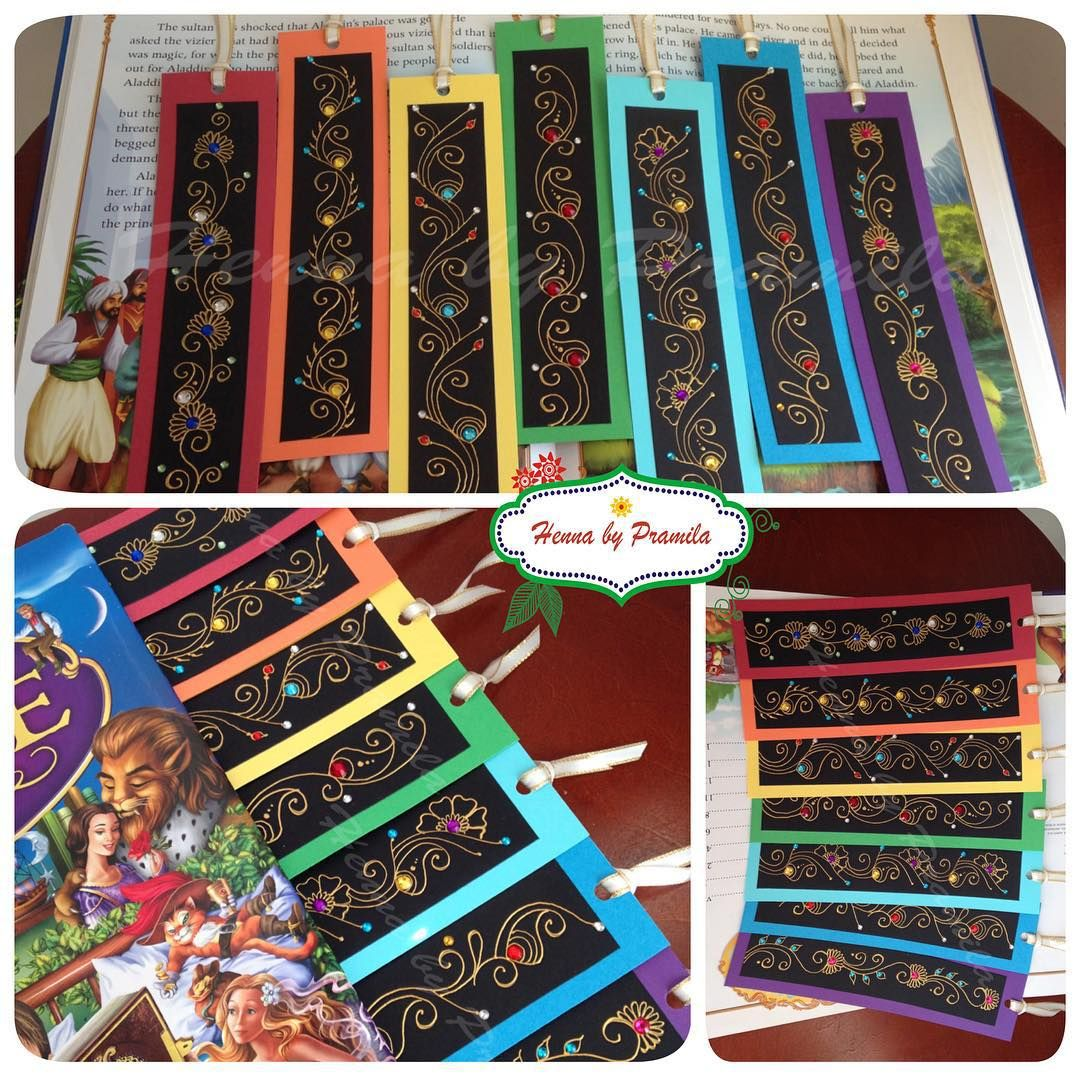 My Original rainbow colour henna inspired bookmarks were sold last month so I made these again. They are available at my etsy shop. Great gift for #teachers #booklovers #readers 📖📚📕📙📒📗📘. #bookmarks #paperbookmark #reader #booklover #teachergifts #smallgift #bookworm #readersgift #books #rainbow #colouful #colorful #etsy #etsyca #etsyfind #etsylove #shop #shoplocal #handpainted #buyhandmade #etsycanada #madeincanada