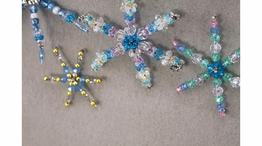 Beaded Snowflake | Sophie's World