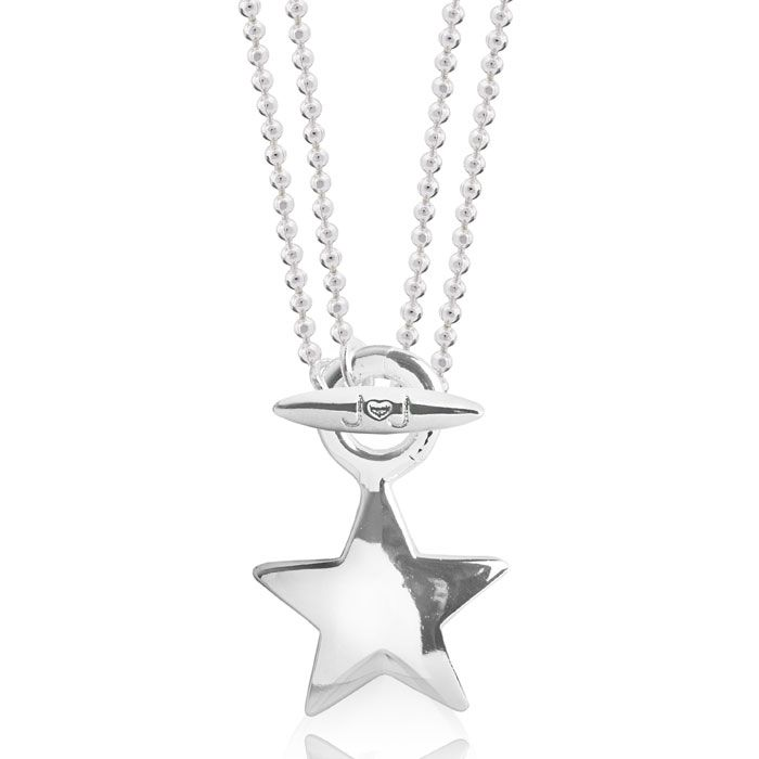 Joma jewellery anya short to long silver star pendant necklace 1851 joma jewellery anya short to long silver star pendant necklace 2 in 1 the aloadofball Images