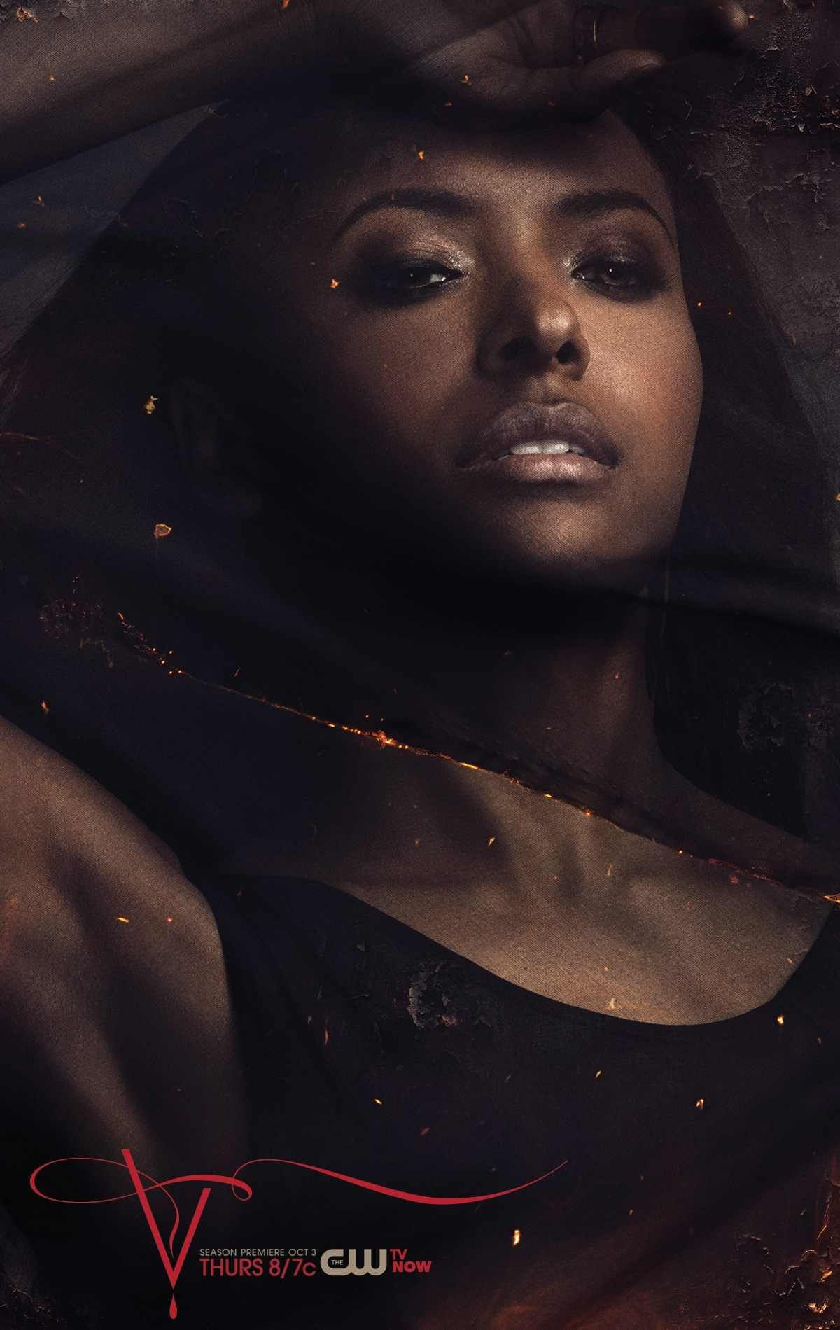 The Vampire Diaries Bonnie Season 5 Character Portrait Vampire Diaries Season 5 Vampire Diaries Poster Vampire Diaries Movie