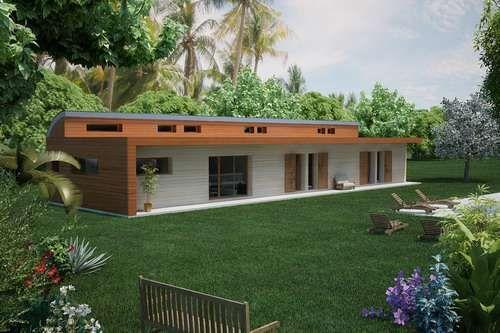 Plan de maison Plain pied ou plein pied, Construire pour quel prix