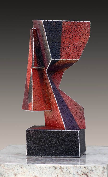 Double Agent, a abstract sculpture by Richard Arfsten
