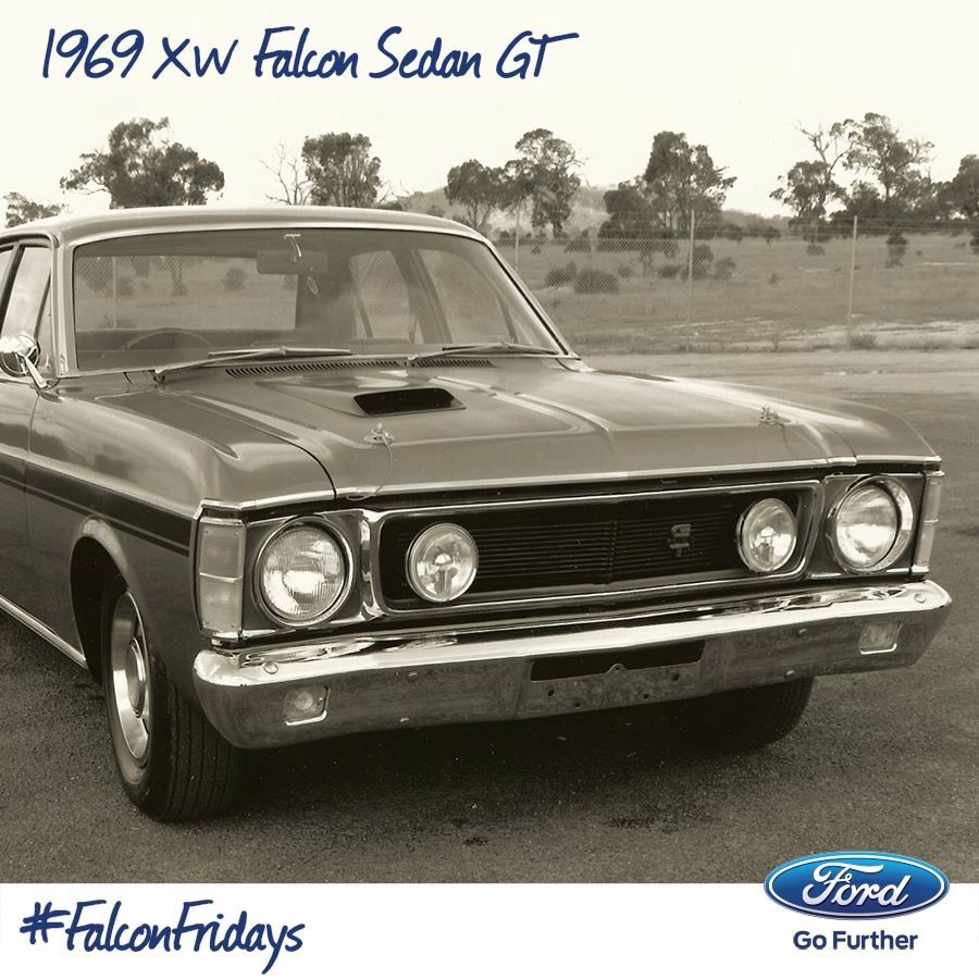 this is the xw, next series was the xy falcon which still to this