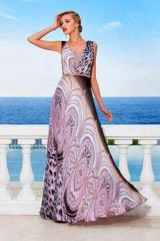 354dc9af7831 Atelier Tsourani » Βραδινα φορεματα σε μοναδικα υφασματα και εντυπωσιακα  χρωματα. Trend μοδας